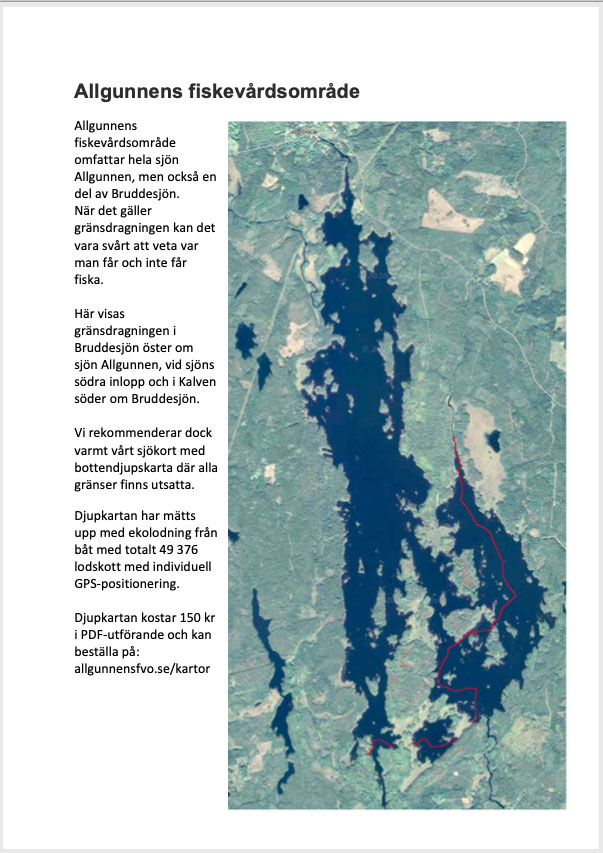 Utskrivbar karta med gränser för fiskerätt inritad. Klicka på bilden för att hämta som PDF-fil.
