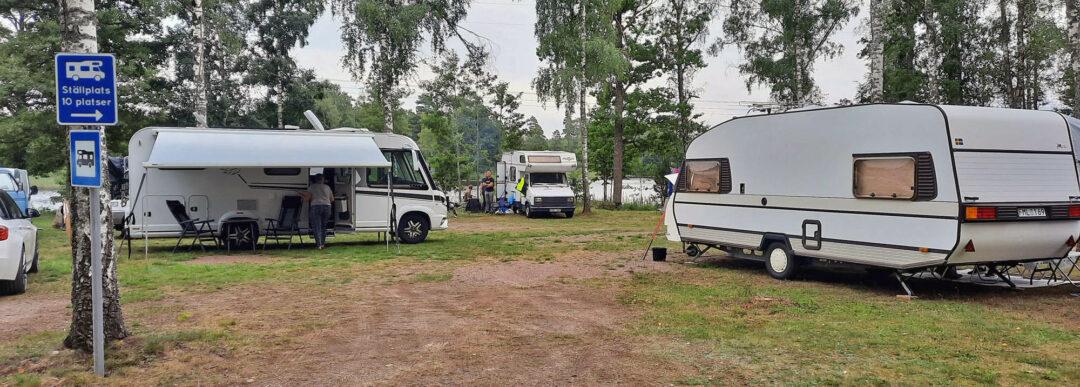 Ställplats för husbil och husvagn vid sjön Allgunnen - Allgunnens FVO.